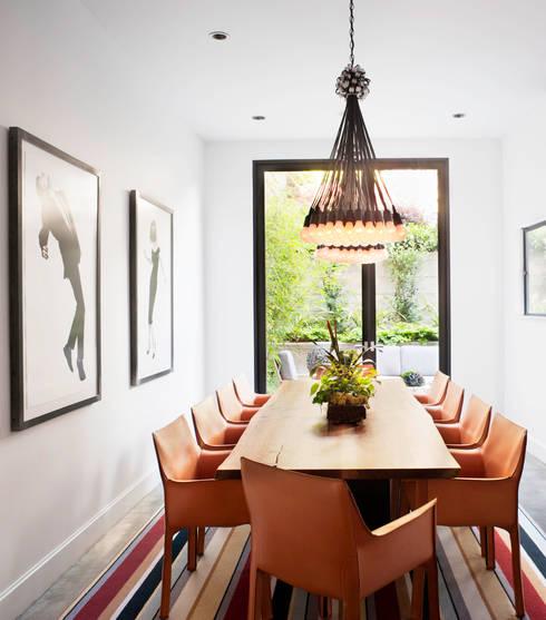 Casa em Sao Francisco: Salas de jantar  por Antonio Martins Interior Design Inc