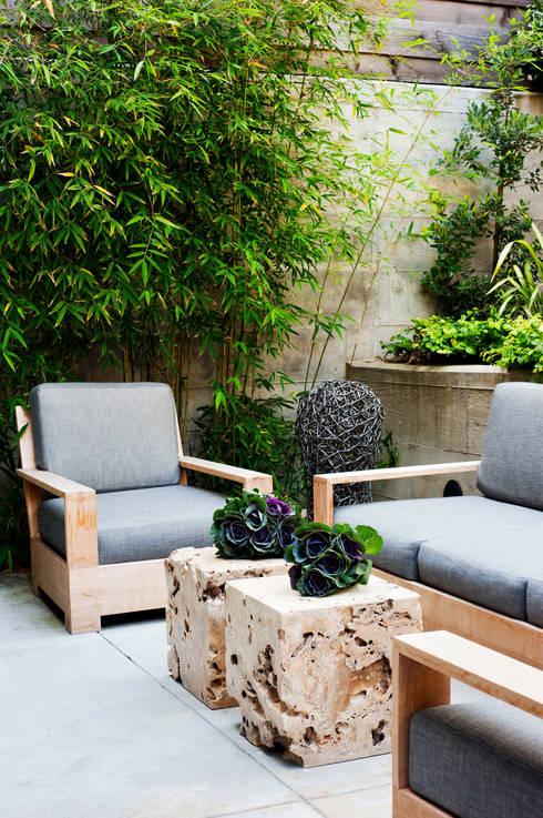 Casa em Sao Francisco: Jardins ecléticos por Antonio Martins Interior Design Inc