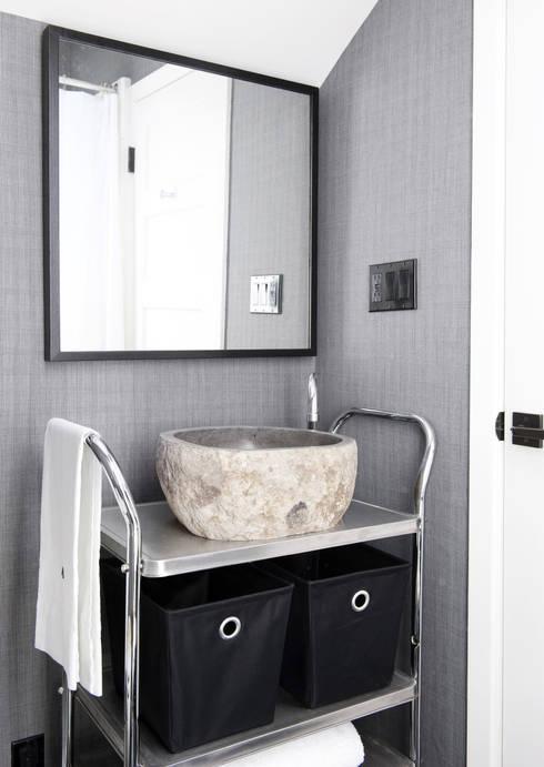 Banheiros  por Antonio Martins Interior Design Inc