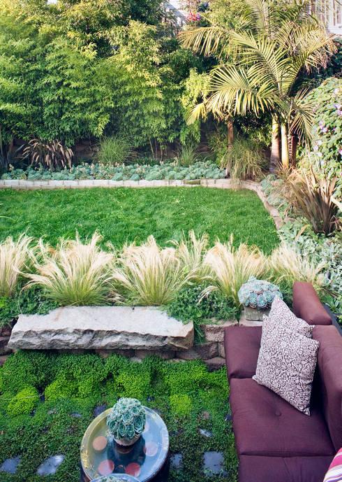 Casa em Sao Francisco - Potrero Hill: Jardins ecléticos por Antonio Martins Interior Design Inc