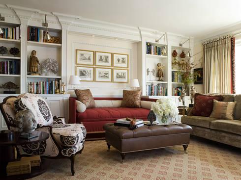 Casa em Nob Hill, Sao Francisco: Salas de jantar clássicas por Antonio Martins Interior Design Inc