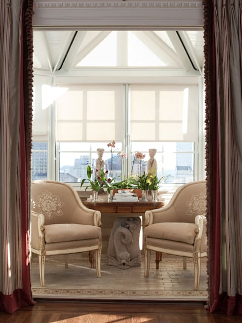 classic Conservatory by Antonio Martins Interior Design Inc