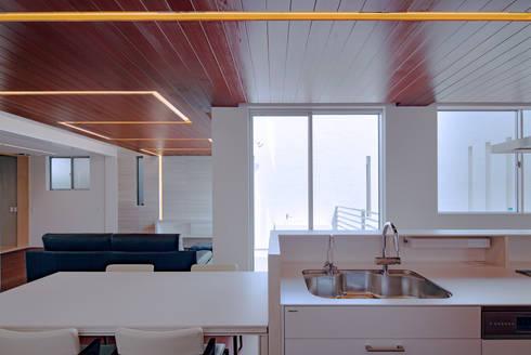modern Kitchen by Architect Show co.,Ltd