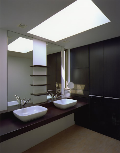 modern Bathroom by Architect Show co.,Ltd