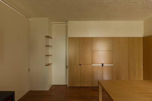 Remodelação de Apartamento na Pasteleira: Salas de jantar escandinavas por ABPROJECTOS