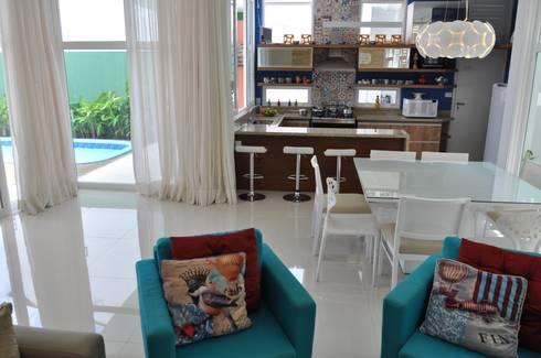 Inspiração Modernista III: Salas de estar modernas por Libório Gândara Ateliê de Arquitetura