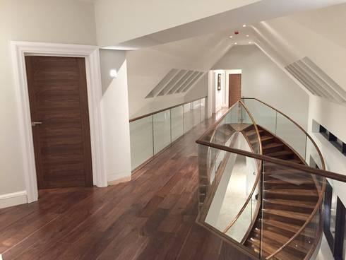 Luxury Staircase: Corridor U0026 Hallway By Haldane UK