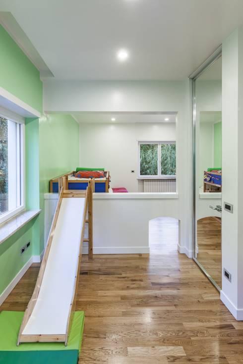 HOUSE G&S: Camera da letto in stile in stile Moderno di GINO SPERA ARCHITETTO