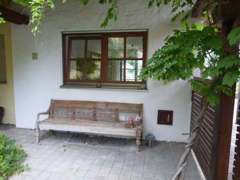 Eingang vorher:   von Home Staging Gabriela Überla