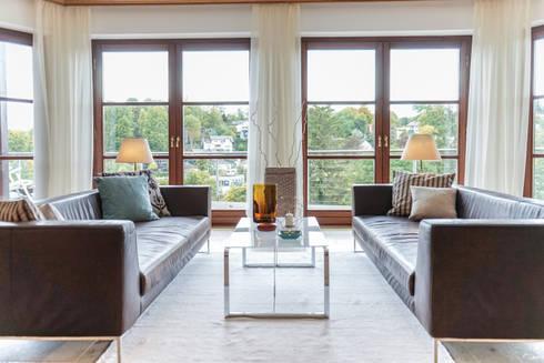 Wohnen nachher:   von Home Staging Gabriela Überla