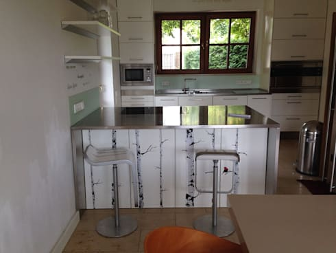 Küche vorher:   von Home Staging Gabriela Überla