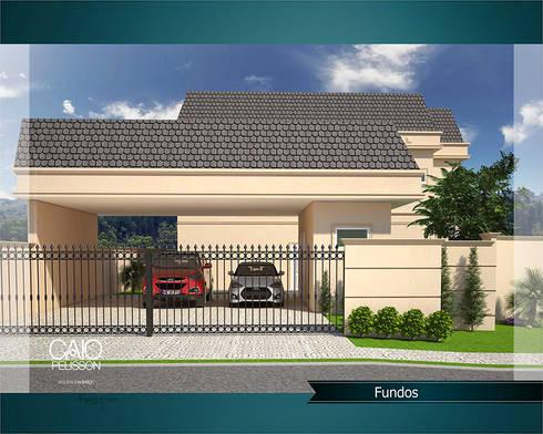 Paulinho e Juliana: Casas modernas por Caio Pelisson - Arquitetura e Design
