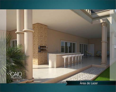 Paulinho e Juliana: Terraços  por Caio Pelisson - Arquitetura e Design