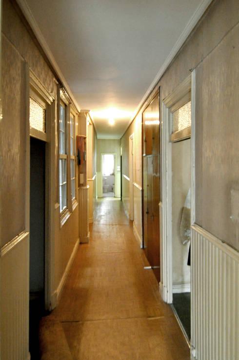 Reforma vivienda:  de estilo  de Garmendia Cordero arquitectos