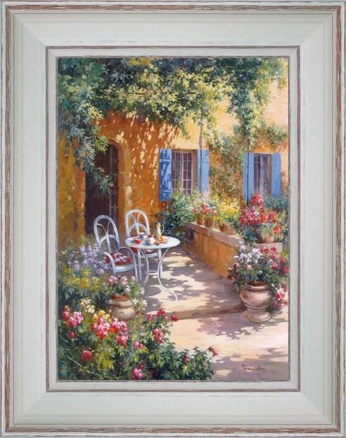 tableaux des rues jardins terrasses par provence distribution atelier artus homify. Black Bedroom Furniture Sets. Home Design Ideas