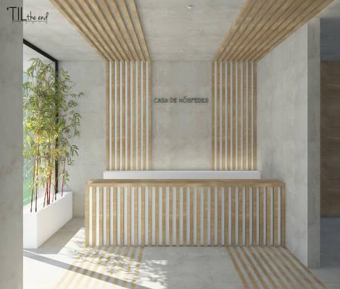 Lobby: Hotéis  por Lagom studio