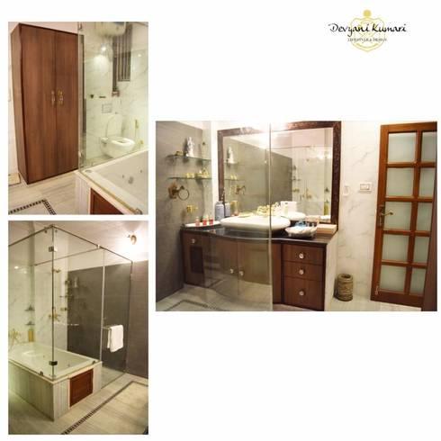 Interior  : modern Bathroom by Devyani Kumari Lifestyle & Designs