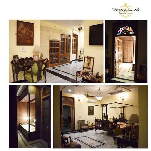 Interior  : modern Living room by Devyani Kumari Lifestyle & Designs