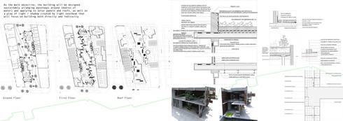 Plantas, cortes e detalhes constructivos :   por Sara Santos Arquitecta