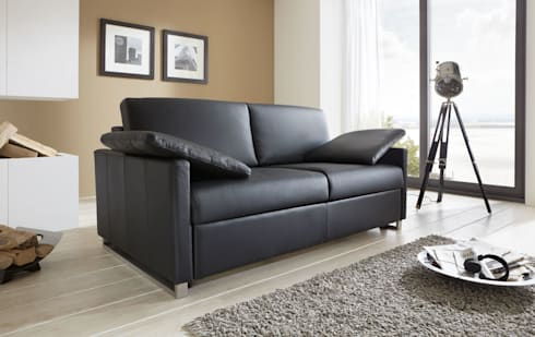 schlafsofa mit matratze von sessel von sawazki und neufeld gbr homify. Black Bedroom Furniture Sets. Home Design Ideas