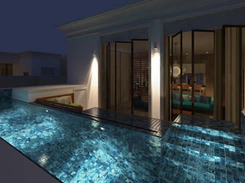 Divyashree: modern Pool by Sanctuary