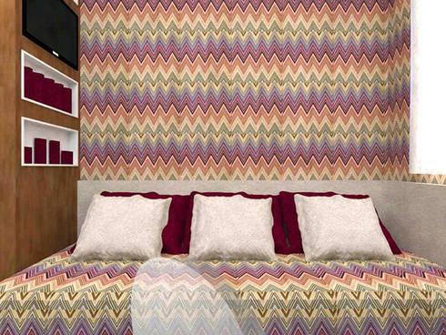 Dormitório Menina LB: Quartos  por Nádia Catarino - Arquitetura e Design de Interiores