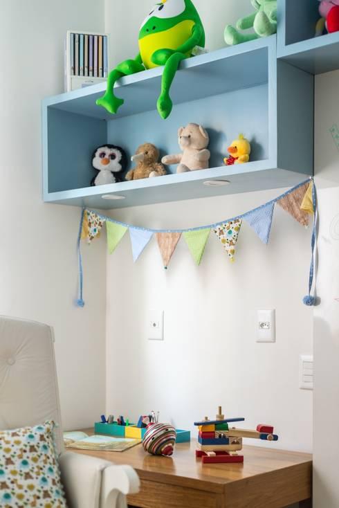 غرفة الاطفال تنفيذ Hana Lerner Arquitetura