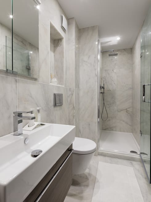 modern Bathroom by The White House Interiors