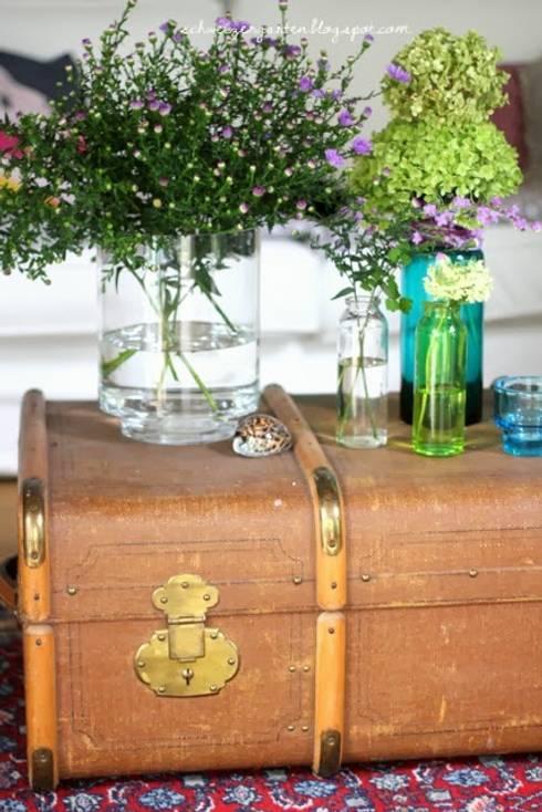 Ich packe meinen Koffer:  Wohnzimmer von Jana Mironowitz
