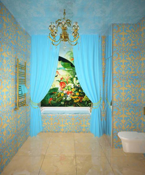 Триумф-Палас: Ванные комнаты в . Автор – Елена Савченко. Студия интерьера