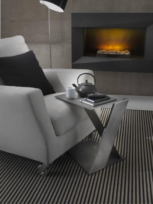 Tavolino Siderietto: Soggiorno in stile in stile Industriale di Siderio