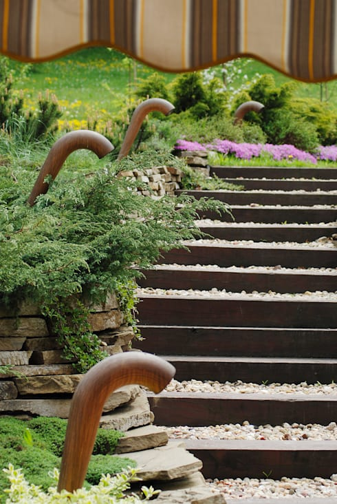 Pracownia Projektowa Architektury Krajobrazu Januszówkaが手掛けた庭