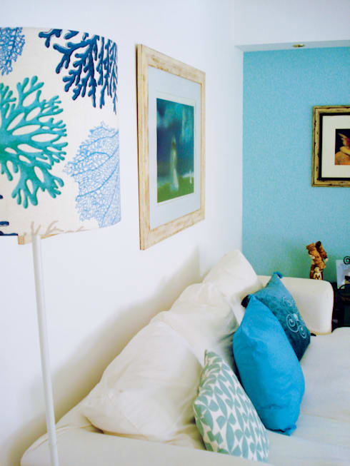 Sala Comum - zona de estar: Salas de estar  por maria inês home style