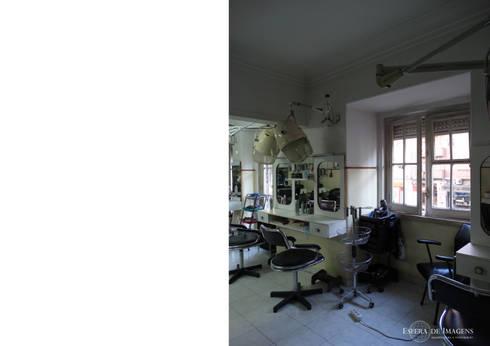 Cabeleireiro Semedo e Celeste - Antes da intervenção:   por Esfera de Imagens Lda