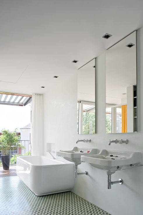 Forsberg Architekten AG의  욕실