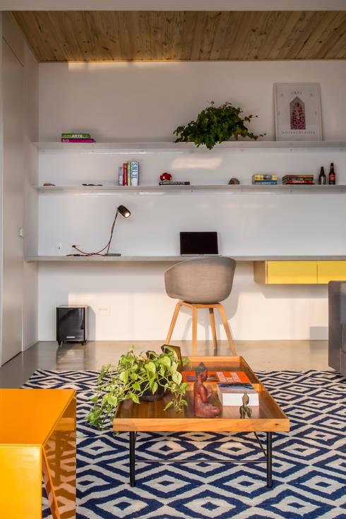 Casa100 Arquitetura:  tarz Oturma Odası