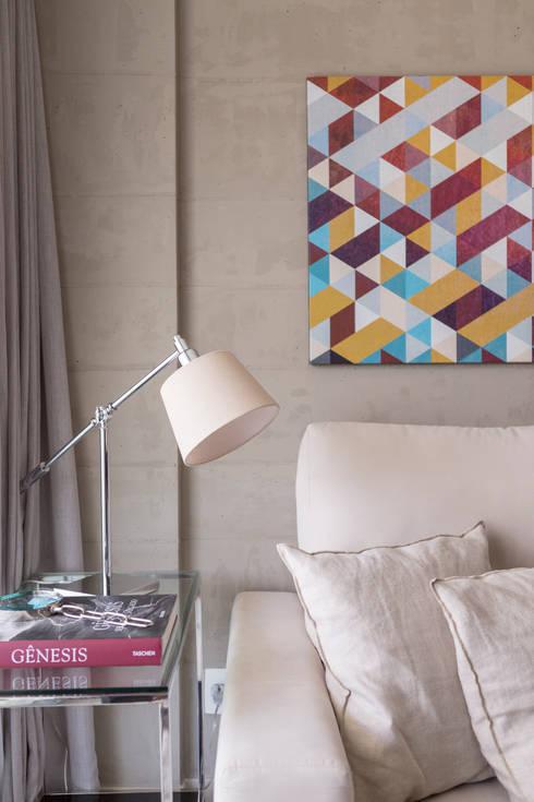 Projekty,  Salon zaprojektowane przez Carpaneda & Nasr