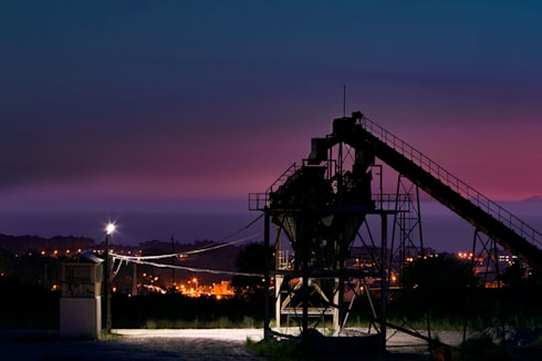 Industrial Noturno:   por Telmo Ferreira Photography