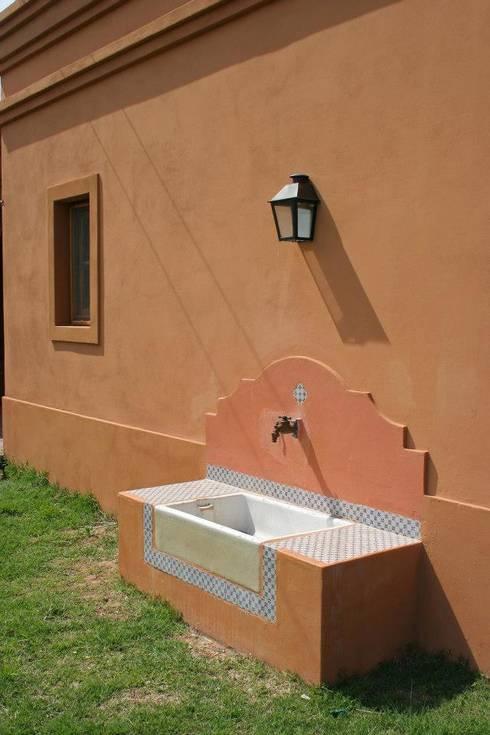 Casas de estilo rural por Aulet & Yaregui Arquitectos