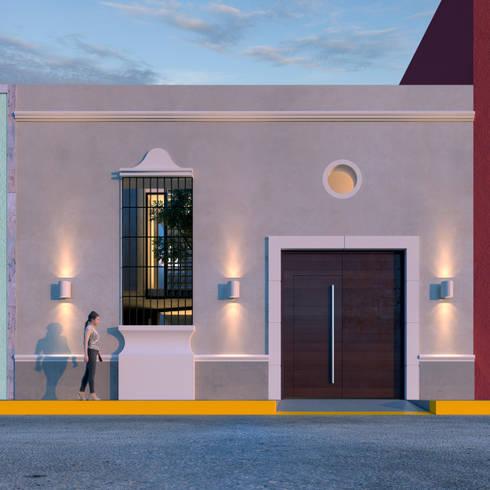 NP CC: Casas de estilo colonial por Esquiliano Arqs