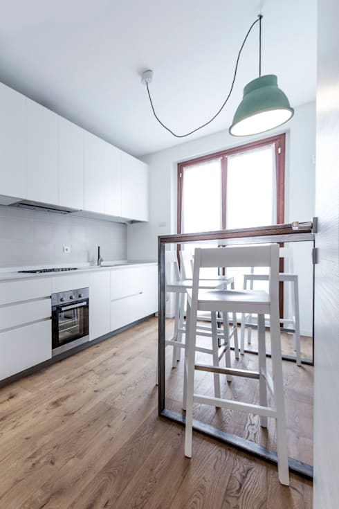 Küche von Galleria del Vento
