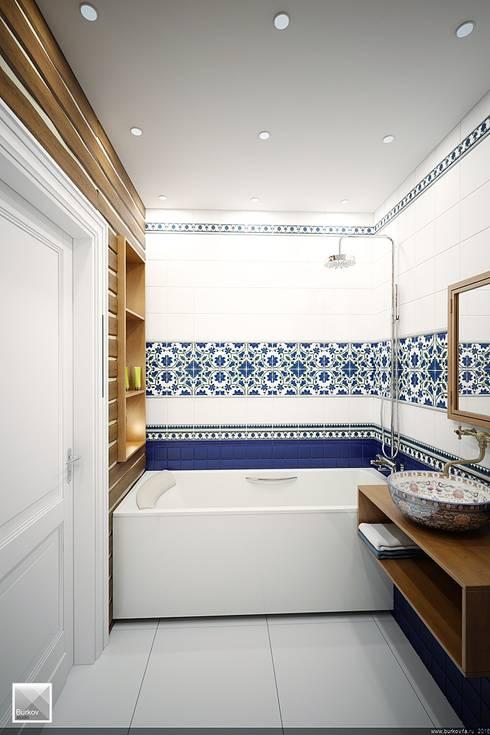 Banheiros campestres por Burkov Studio