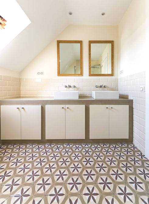 ห้องน้ำ by 08023 Architects