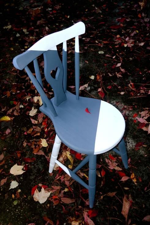 Cadeira#Let it Flow: Sala de jantar  por Jigajoga