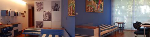 Suite Crianças: Quartos de criança modernos por Inexistencia Lda