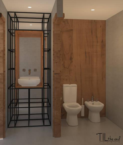 Sanitary Instalation of a restaurant: Espaços de restauração  por Lagom studio