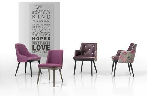 Kelly Collection: Sala de estar  por Fenabel-The heart of seating