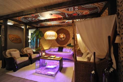 Lounge da Oceania : Espaços comerciais  por Pinheiro Machado Arquitetura