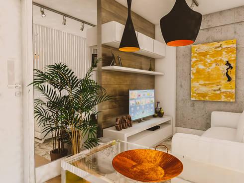 sala: Salas de estar modernas por Studio M Arquitetura