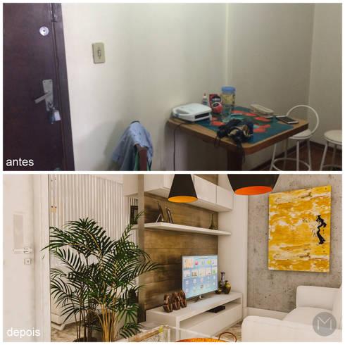 sala:   por Studio M Arquitetura